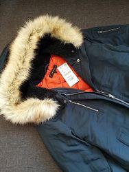 Куртка парка ZARA. Размер С-М