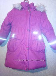 Пальто Ленне р. 110, БУ  в идеальном состоянии