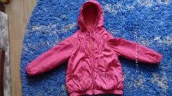 Демисезонная курточка Оранжевый верблюд р. 104