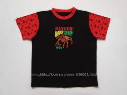 7-8 лет Хлопковая футболка Primark, бу.