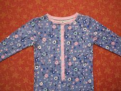 7-8 лет Хлопковый человечек-пижама George, б/у.