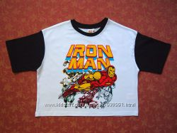 10-12 лет Хлопковая футболка Marvel, бу.