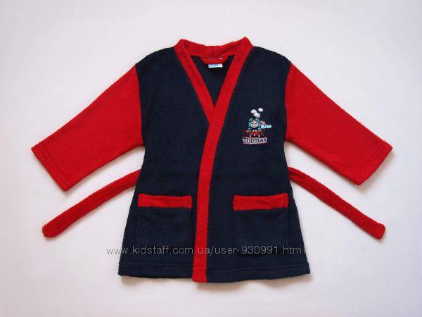 на 2 года. Махровый халат Томас, Thomas & Friends , бу.