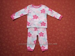 12-18 месяцев Хлопковая пижама George, бу.