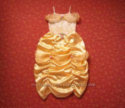 Продаю 11-12 лет Карнавальное платье Бель Красавица и чудовище, Disney