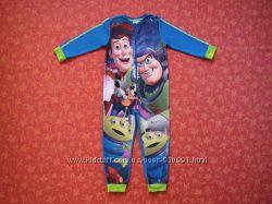 4-5 лет Флисовый человечек-пижама История Игрушек Toy Story, бу.
