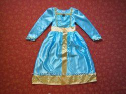 Продаю 5-6 лет Карнавальное платье Мерида, Храбрая сердцем, Disney, бу.