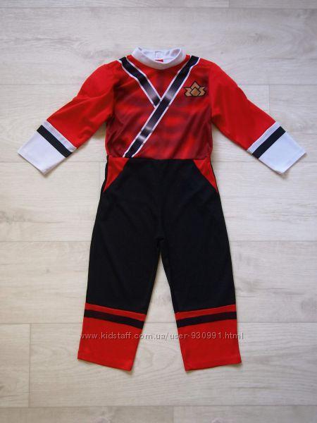Продаю 3-4 года Карнавальный костюм Красный Самурай-Рейнджер