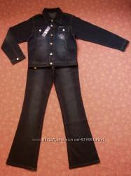 размер М, Новый джинсовый костюм.