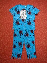 Продаю Размер M-L, Мужской карнавальный костюм Зомби, Хеллоуин, Halloween,