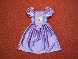 Продаю 5-6 лет Карнавальное платье Рапунцель, Disney, б/у.