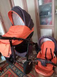 Продам универсальную коляску Tutis Zippy 2 в 1 туттис зиппи