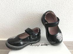 Кожаные лаковые туфельки Lapsi