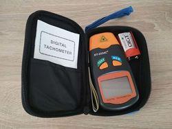 Тахометр лазерный бесконтактный цифровой DT-2234C батарея в комплекте