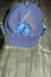 Деми шапка с козырьком