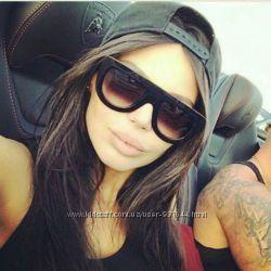 Солнцезащитный очки CELINE, стильные женские очки  ПОДАРОК