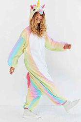 Пижама кигуруми Взрослые Единорог радужный