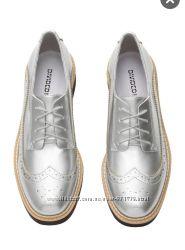Брогги, туфли женские на шнурках, распродажа Н&М