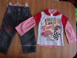 Продам комплект для мальчика. Джинсы плюс рубашка. Недорого. Flexi