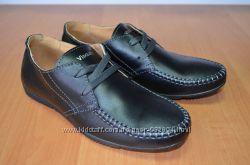 Туфли кожаные visazh 32-39р последние размеры