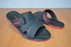 Мужские кожаные шлепанцы Nike 40-45