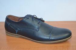 Фирменные кожаные Shamrock туфли -70