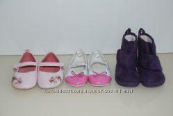 Обувь детская туфельки, ботиночки 18-19 размер, 11-12 см стелька