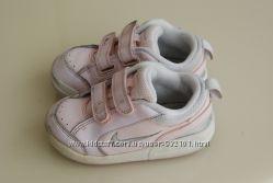 Детские кожаные кроссовки nike стелька 14, 5 см