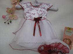 Красивенькое платье на 6-9 мес