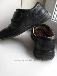 Ботинки-туфли Clarks 43-44 роз