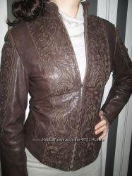 Курточка кожаная 44-46 роз.