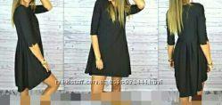 Платье чёрное р. С
