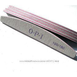 Профессиональные пилочки OPI 100  180 для маникюра