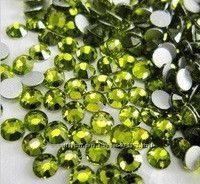 Стразы хрустальные  оливин Olivine