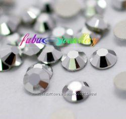 Стразы хрустальные Silver  серебро