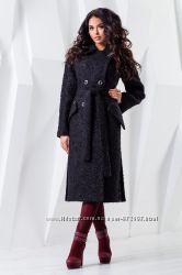 Пальто женское демисезонное из шерстяной ткани