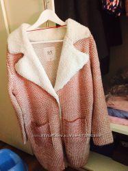 Продам новое пальто- кофта фирмы QS