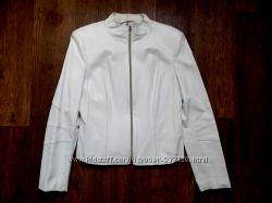 Ветровка курточка женская пиджак белый, р. 48