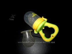 Ниблер Kinderenok силиконовый для кормления с дополнительной насадкой
