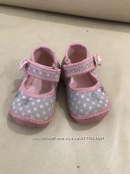 Туфли для первых шагов тапочкипинетки 18 размер