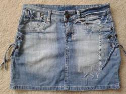 Юбка джинсовая р. 44-46