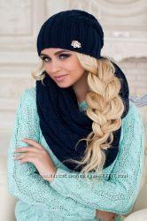 Зимние шапки, береты, комплекты