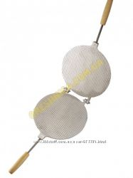 Форма для выпечки вафлей  Вафельница круглая 210  мм