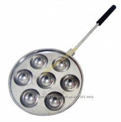 Форма для приготовления творожных, сырных шариков пончиков Такоячница