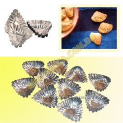 Формочки для выпечки печенья Ракушка 10 шт