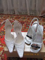 Весільні босоніжки плюс ще одні в подарунок