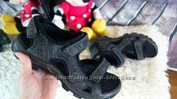 Кожаные сандалии Ecco. Оригинал. Амортизация подошвы