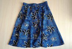Красивенная юбка клеш с высокой талией, р. 36-38