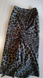 Эффектная юбка с геопардовым принтом, Италия