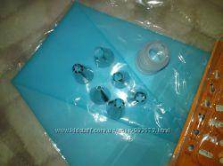 Набор насадки, силиконовый мешок и переходник